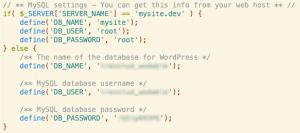 database-switch